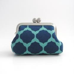 Frame Coin Purse / Mini Jewelry Case with Ring Pillow